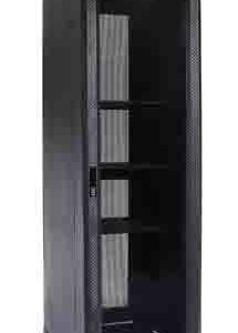 Eusso Server Cabinet MS-EJS6842-GP 42U W600*D800 Door Type Front Glass - Rear Perforated 4 Cooling Fans + 1 Fixed Shelf