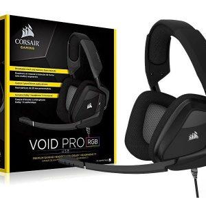 Corsair Gaming headset VOID Pro RGB USB Dolby 7.1 - Black CA-9011154-NA