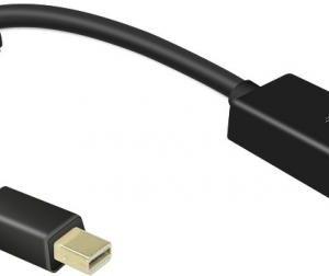 SpeedLink SL-170010-BK MINI DISPLAYPORT TO HDMI ADAPTER HQ
