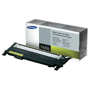 Samsung Toner CLT-Y406S/SEE SU463A Yellow Toner for CLP-365; CLX-3305, C410W and C460W