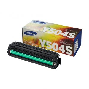 Samsung Toner CLT-Y504S/SEE SU503A Yellow Toner for CLP-415; CLX-4195, C1810W and C1860FW