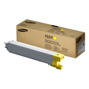 Samsung Toner CLT-Y659S/SEE Evergreen Yellow Toner for CLX-8650