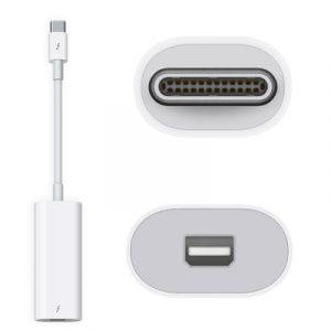 Apple MMEL2ZM/A Thunderbolt 3 (USB-C) to Thunderbolt 2 Adapter
