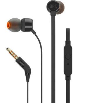 JBLT110BLK JBL 110 PUREBASS earphones BLK