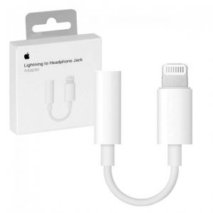 Apple MMX62ZM/A Lightning to 3.5 mm Headphone Jack Adapter