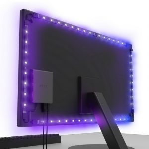 NZXT HUE 2 Ambient V2 RGB Lighting Kit for 26-32″ Wide Monitors
