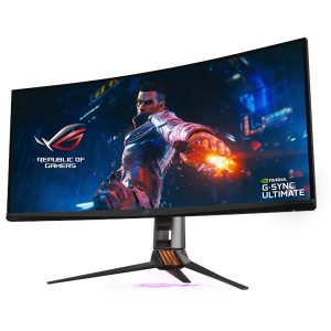 """Monitor Asus Screen ROG Swift PG35VQ Ultra-Wide HDR Gaming Monitor – 35"""" 200Hz"""