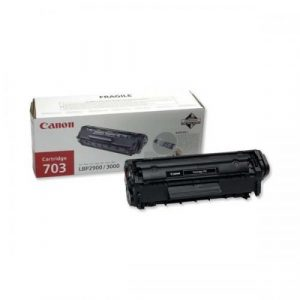 Canon LBP Consumables (GR)  Cartridge 703 (yield = 2000* pages) 7616A005AA