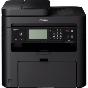 Canon  Laser - 4 in 1 MF237WPRINT/COPY/SCAN/FAX + Hand Set, 23 PPM, 1200*1200 DPI, ADF 35 PAGE, 256 PAGES Fax MEMORY, 1-sheet multi-purpose tray, 6 seconds First Print Out Time, scan to PC