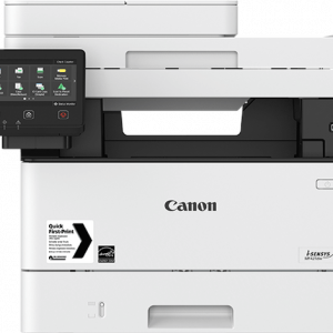 Canon  Laser - 4 in 1 MF426dw - NewPrint/Copy/Scan/FAX, 38PPM, automatic double sided printing & Copying, 12.7 cm color touch screen, dingle pass 50 sheet DADF, 250 sheet casette, scan to email & Folder,  print & scan from/to USB key, Secure print