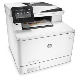 HP MFP Color Laser / A4 Format CF378A Color LJ Pro MFP M477fdn 4in1, print, scan, copy, fax, Speed 28ppm Black & Color