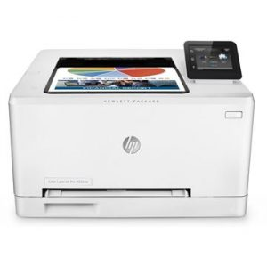 HP Printers Color Laser / A4 Format T6B60A Color Laser Jet 254dw , Speed 21ppm Black/Color, Res 600x600dpi, 128MB Memory, 800MHz processor, Network, Duplex, Wireless, E-Print, Airprint, 6.85 cm color touchscreen, USB2.0, Duty Cycle 40,000 pages