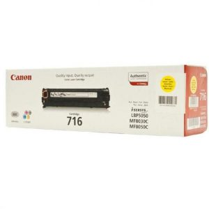 Canon Cartridge 716 Yellow (yield = 1500** pages) 	1977B002AA