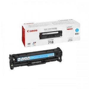 Canon  Cartridge 718 Cyan (yield = 2900** pages) 2661B002AA