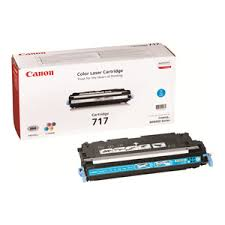 Canon  Cartridge 717 Cyan (yield = 4000 pages) 	2577B002AA