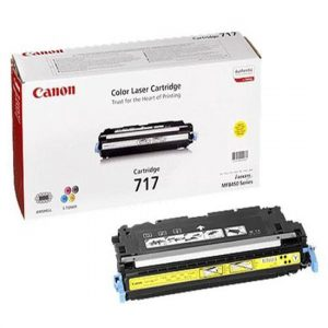 Canon  Cartridge 717 Yellow (yield = 4000 pages) 2575B002AA