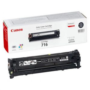 Canon  Cartridge 716 Black (yield = 2300** pages) 1980B002AA