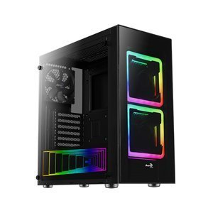 Computer Case Aerocool Tor RGB Lighting w/ Tempered Glass Full Window