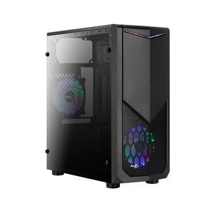 Computer Case Aerocool Tomahawk-A Mid Tower Case w/ Full Window