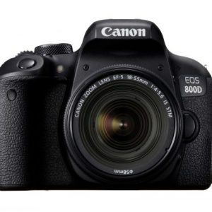 Canon Camera EOS 800D 18-55 IS1895C002AA BT-WIFI bundled SD16GB+Case No DISCOUNT 243.0