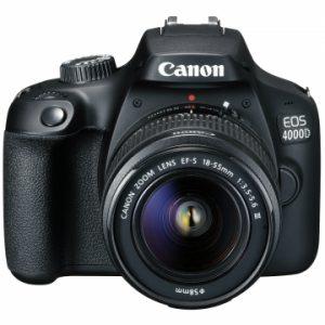 Canon Camera EOS 4000D 18-55 Double lenses3011C010AA WIFI bundled SD16GB+Case No DISCOUNT 183.0