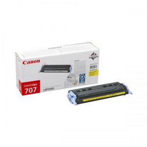 Canon LBP Consumables (GR)   Cartridge 707 Yellow  (yield = 2000 pages) 9421A004AA