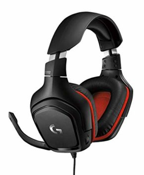 LOGITECH G332 Wired Gaming Headset LEATH. AN. 981-000757
