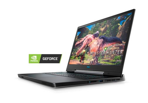 Laptop Dell notebook G7 G7790-7523GRY-PUS I7-8750H 16 GB 1 TB + 256GB 17 3  inch RTX 2060 WIN10