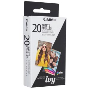 Canon Paper Zink Paper ZP-2030 20 sheets 3214C002AA
