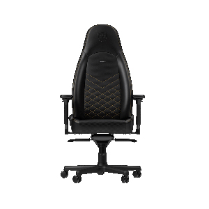 Noble Chair noblechairs ICON Gaming Chair Black / Gold NBL-ICN-PU-GOL - 4251442501778