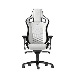 Noble Chair noblechairs EPIC Gaming Chair White / Black NBL-PU-WHT-001 - 4251442501037