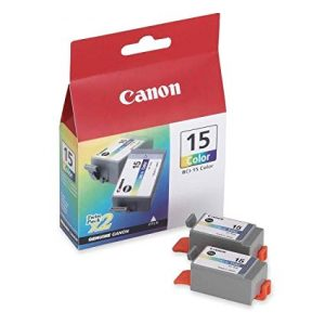 Canon BCI-15Clr  Colour ink tank - Twin Pack8191A002AA