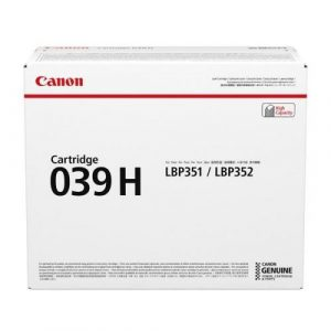 Canon LBP Consumables (GR)  Cartridge 039H (yield = 25,000* pages)0288C001AA