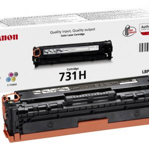 Canon 731H BK   (yield = 2400* pages) 6273B002AA