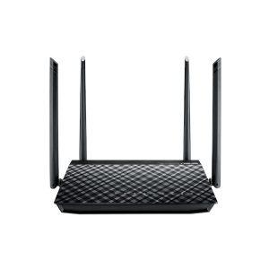 Asus RT-AC57u Dual Band WiFi Router with four external antennas 90IG02P1-BU3100