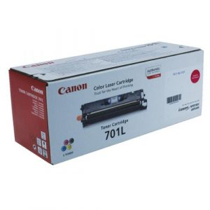 Canon LBP Consumables (GR)   Cartridge 701 L Magenta  (yield = 2000 pages) 9289A003AA