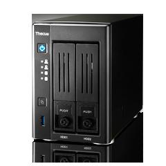 Thecus Storage N28102-BAY SOHO NAS : INTEL CELERON PROCESSOR N3050 (2.16 GHZ DUAL CORE),2GB DDR3 SDRAM, USB 2.0 X 2, USB 3.0 X 1, HDMIX 1, VGA X 1