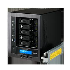 Thecus Storage N5810PRO5-BAY SOHO NAS : INTEL CELERON J1900 QUAD CORE SOC,4GB DDR3 SDRAM WITH BUILT IN MINI UPS