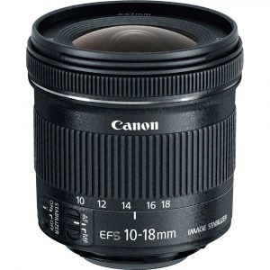 Canon Ultra Wide Zoom EF-S 10-18MM F4.5-5.6 IS STM EUR9519B005AA