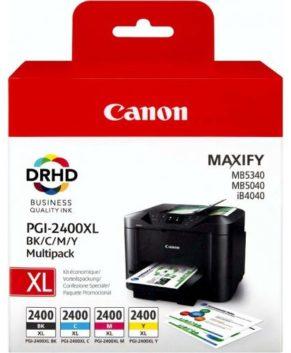 Canon MAXIFY Series PGI-2400XL BK (yield = 2500 pages)9257B001AA