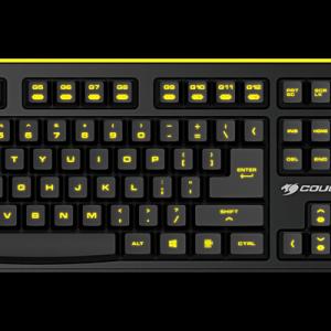 COUGAR 300K high Scissor Gaming Keyboard 1 year Warranty