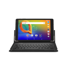 Alcatel 9027Q-2AALAP1-2 4894461806426 8 inches IPS 1280 x 800 pixels Android 8.1 QuadCore 4 x 1.28GHz MT8765 32GB 3GB Back : 5MP Front : 2MP 4G 4080mAh Keyboard Flip Case Black 18 Months warranty