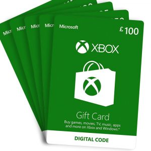 XboX Gift Cards 10$ Value