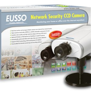 Eusso IP Camera UNC7700-I	IP Network Camera Wired ,MPEG-4 / MJPEG Dual-Codec , Network Sony CCD Camera