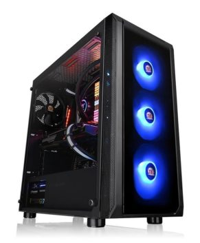 Thermal Take CA-1L6-00M1WN-01 Versa J23 Tempered Glass RGB Edition