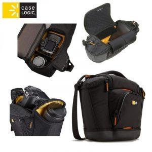 CaseLogic SLRC202 Nylon  Medium SLR Camera Bag, w/ EVA protection