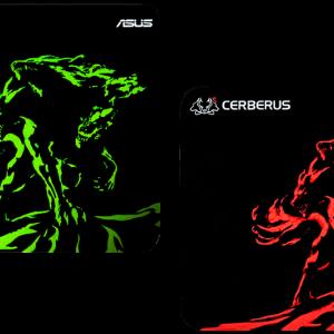 Asus Mouse pad 90YH01C3-BDUA00 CERBERUS MAT MINI (RED) (SM) 2 years warranty