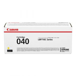 Canon Cartridge 040 Yellow (yield = 5,400** pages)0454C001AA