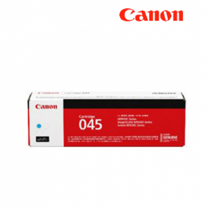 Canon Cartridge 045 Cyan (yield = 1,300** pages) - 1241C002AA