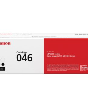 Canon Cartridge 046 Black (yield = 2,200** pages) - 1250C002AA